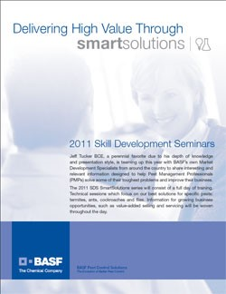 BASF Pest Control Solutions Announces 2011 Skill Development Seminars
