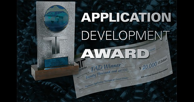 $20,000 titanium applications development award