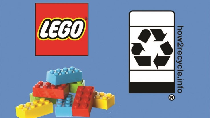 Lego Group adds How2Recycle Label to its packaging