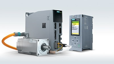Siemens' servo drive system simplifies motion control for machine builders