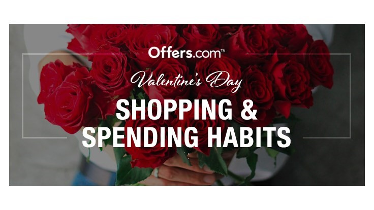 Valentine's Day spending survey by Offers.com