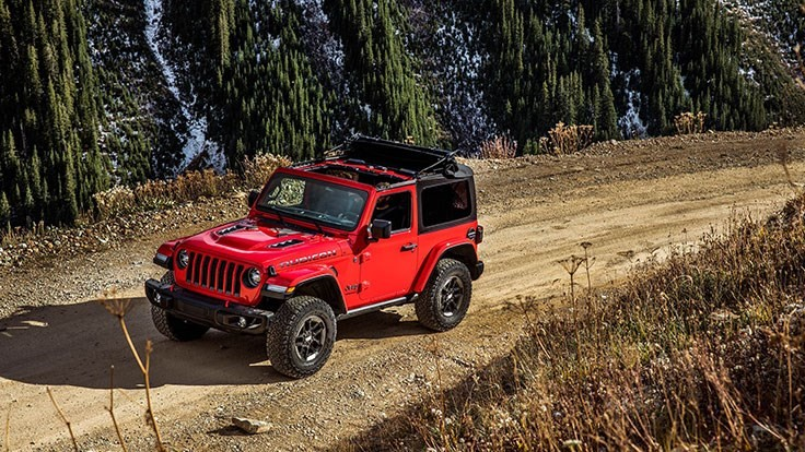 2018 Jeep Wrangler contains Novelis aluminum