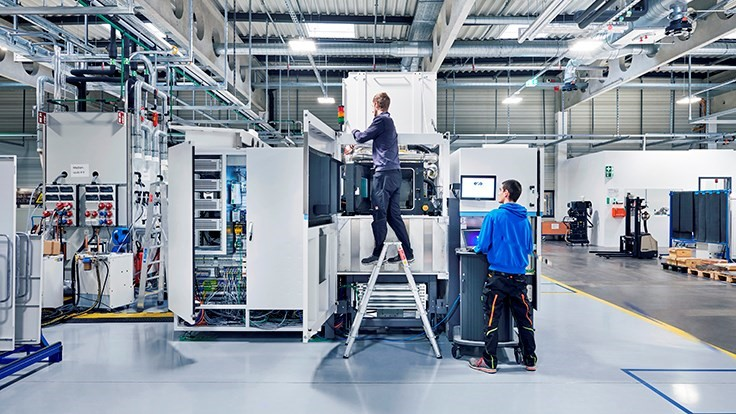 EOS' industrial 3D printer production capacity expansion