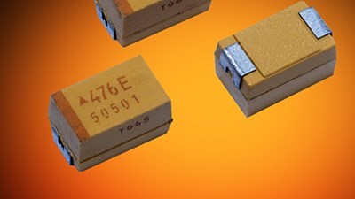 AVX ultralow-ESR tantalum capacitors