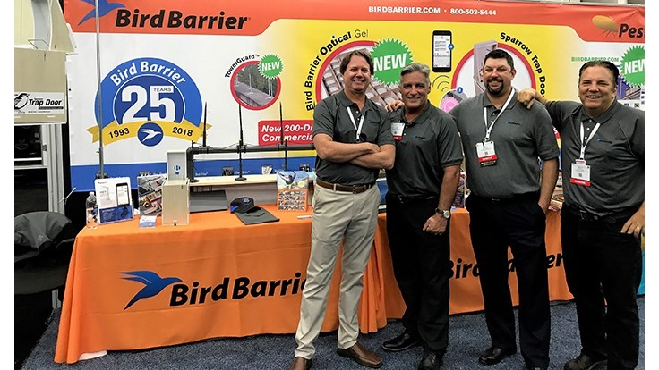 Bird Barrier America Celebrates 25th Anniversary