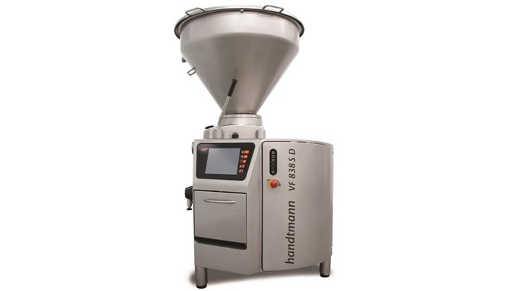Handtmann Introduces Vacuum Filler with 3-A Certificate Authorization