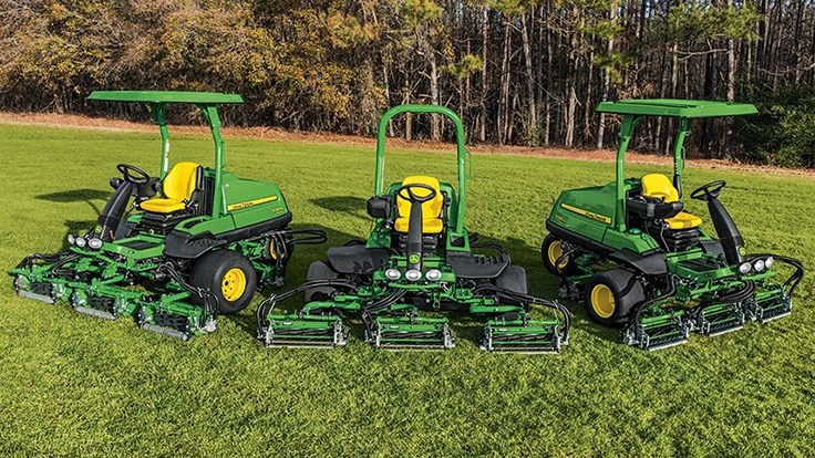 John Deere Golf Expands PrecisionCut Fairway Mowers