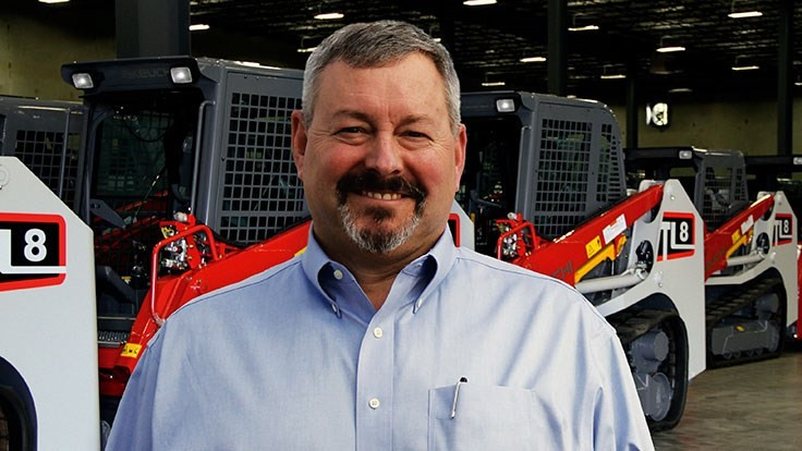 Takeuchi hires new VP, general manager