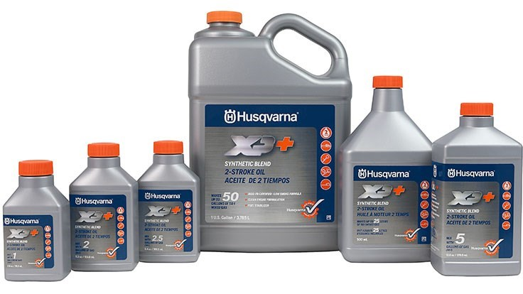Husqvarna reformulates machine oils