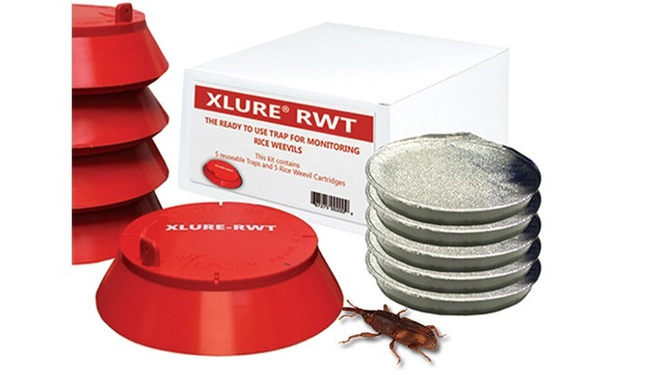 J F  Oakes Offers Rtu Rice Weevil Trap - Pct