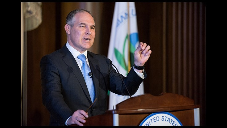 EPA Administrator Pruitt Signs Endangered Species Act Memo for Pesticides
