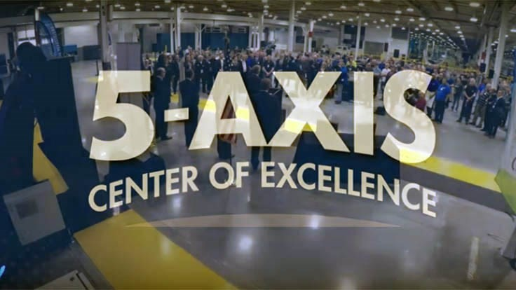 Spirit AeroSystems unveils 5-Axis Center of Excellence