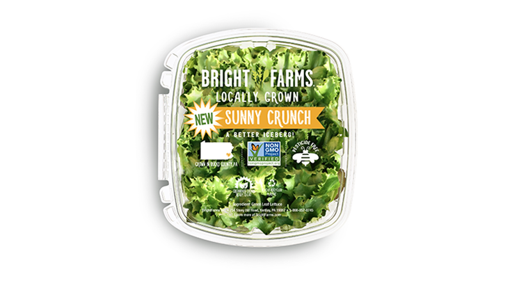 BrightFarms debuts Sunny Crunch packaged salad