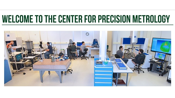 Heidenhain donates to UNCC Center for Precision Metrology