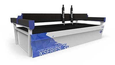 WARDJet's X-Series waterjet