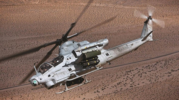 Triumph secures contract with Bell for AH-1Z bonded panels
