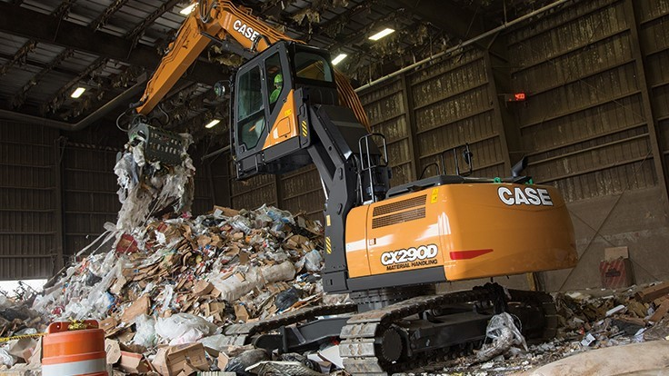 Case CE adds two crawler excavators to D series