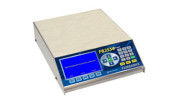 Fairbanks Scales releases FB2558 weighing instrument