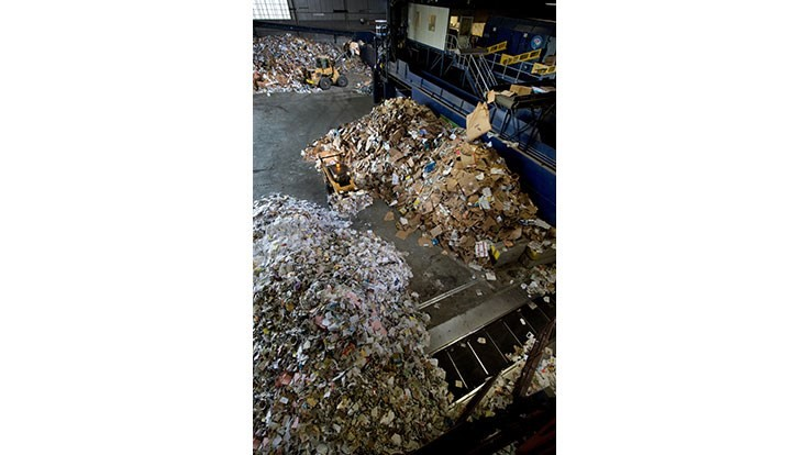Casella Waste Systems sees decline in operating income from its recycling segment