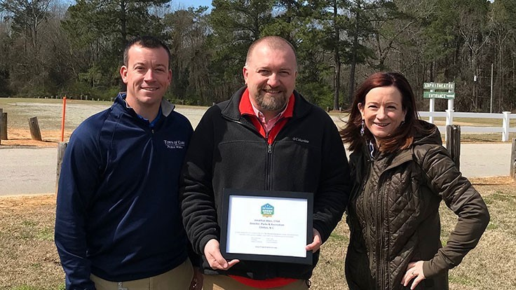 Project EverGreen awards North Carolina parks department