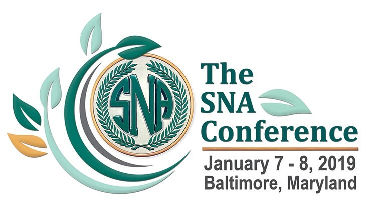 2019 SNA Conference announced
