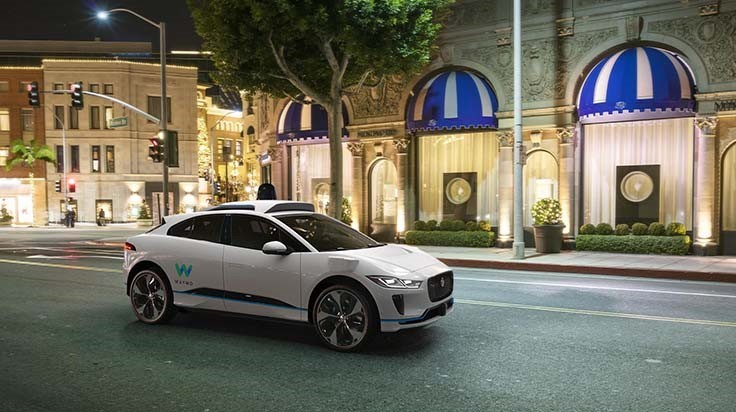 Waymo to buy up to 20,000 electric Jaguar vehicles for autonomous development