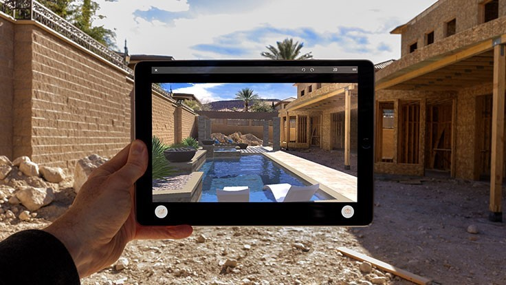 Augmented reality app launches for landscape designers ...