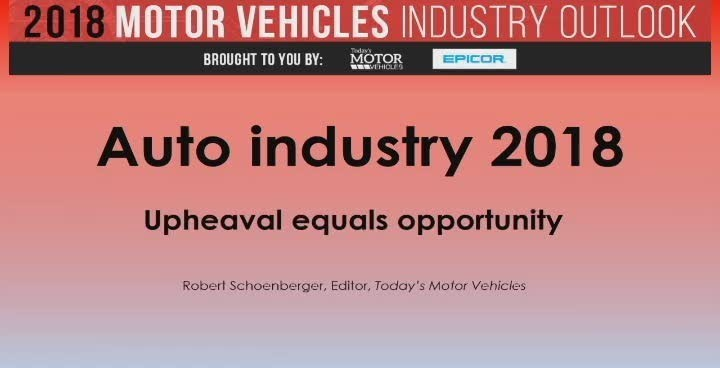 Free 2018 auto industry outlook webinar brought to you by Epicor