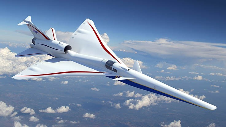 NASA selects Lockheed Martin to build quieter supersonic aircraft