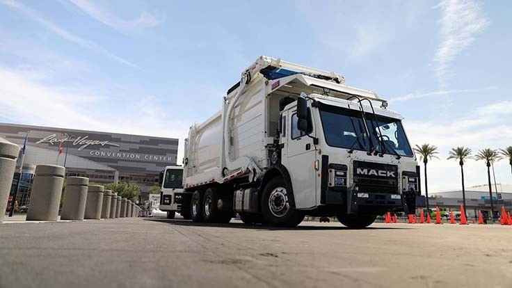 Mack, New York City plan electric refuse truck fleet - Today's Motor Vehicles
