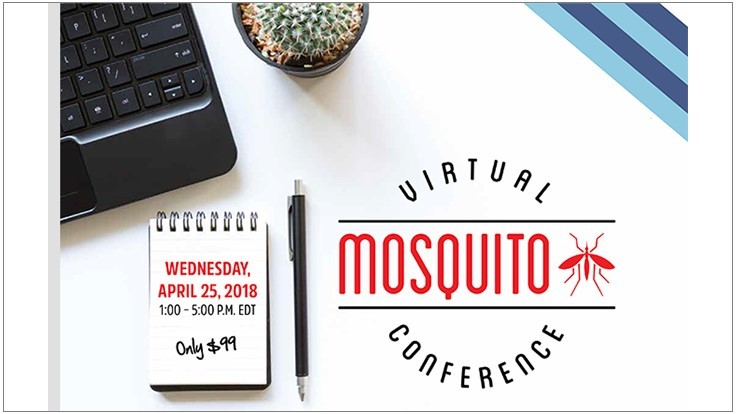 Reminder: PCT Virtual Mosquito Conference is April 25