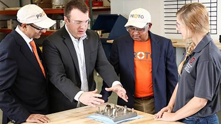 Industry partners bring metal additive manufacturing to Ohio State