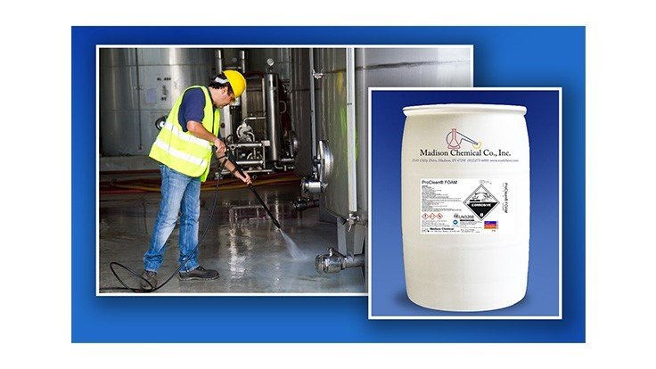 Madison Chemical to feature ProClean FOAM at United Fresh