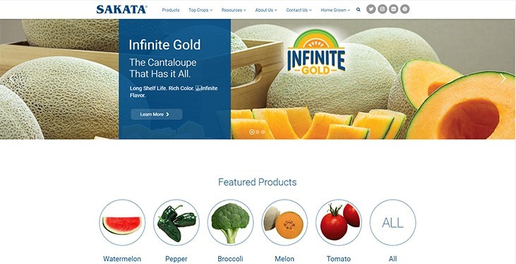 Sakata Seed America launches new mobile-friendly vegetables website