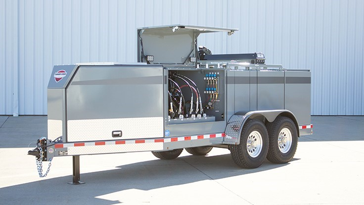 Thunder Creek Equipment redesigns service and lube trailer