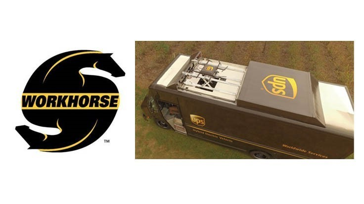 HorseFly delivery truck-launched drone receives patent