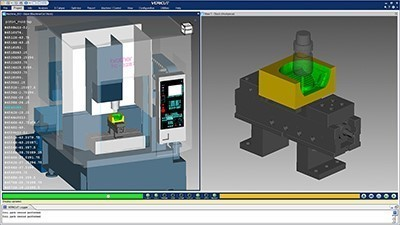 Machine simulation software