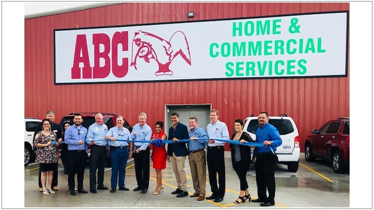 Abc Home Commercial Services Opens New Corpus Christi