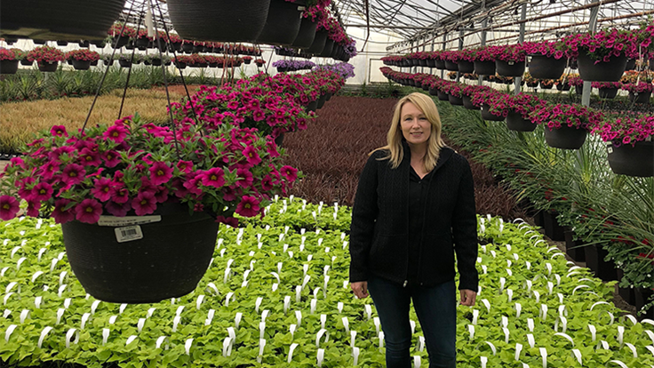 Botany Lane Greenhouse hires Emma Steed as young plant sales manager