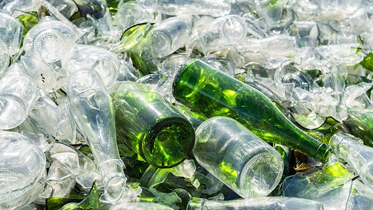 Construction begins on world's largest glass recycling facility