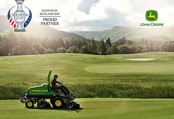 John Deere named official turf equipment supplier for 2019 Solheim Cup