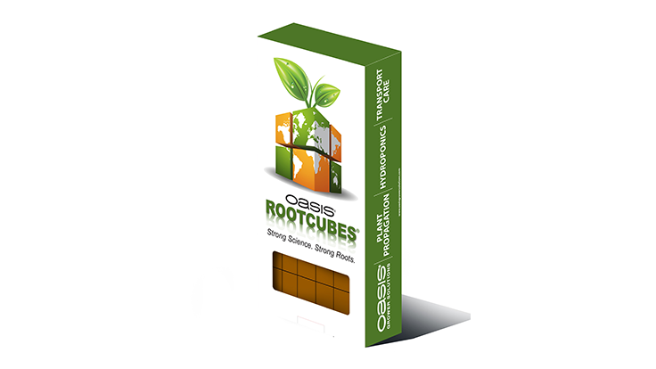 Oasis Growing Solutions releases Rootcubes retail pack