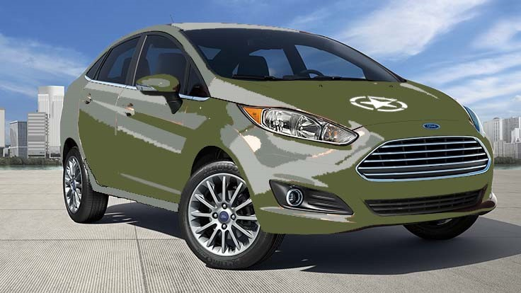 'America does not go to war in a Ford Fiesta'