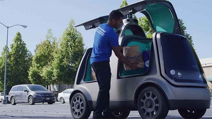 Kroger to test self-driving grocery delivery via Nuro