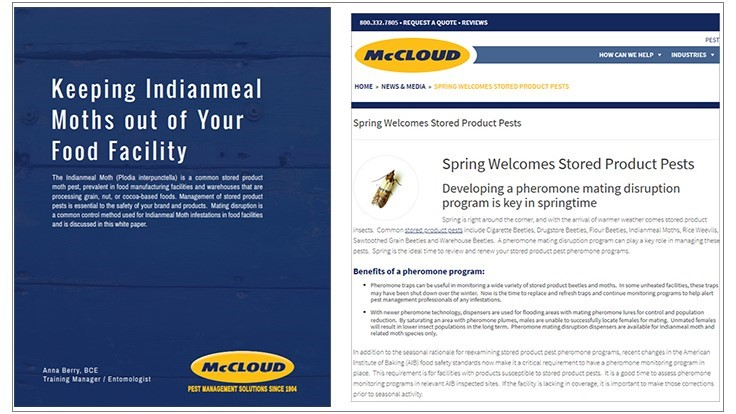 McCloud Provides Stored Product Pest Prevention Tips