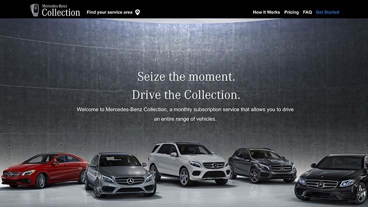 Mercedes launches car-subscription service