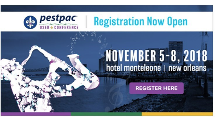 Registration Now Open for PestPac User Conference
