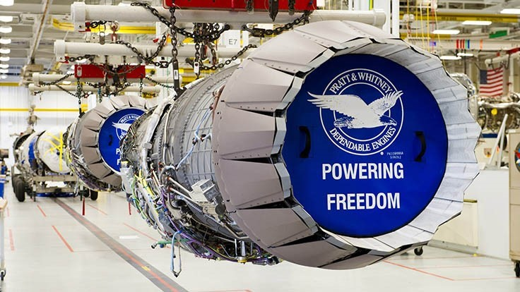 Pratt & Whitney wins contract for 135 F135 engines