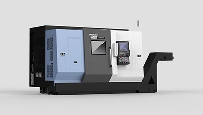 PUMA TT2100SYY twin-spindle, twin-turret, dual Y-axis turning center