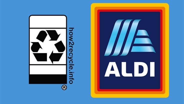 Aldi joins How2Recycle